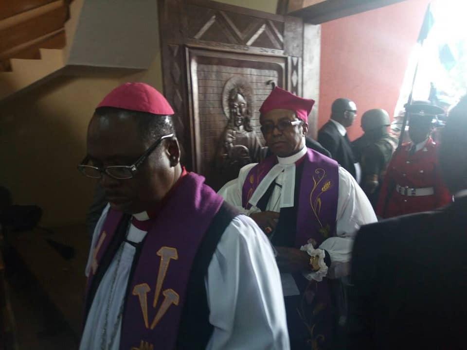Photos: Patience and Goodluck Jonathan attend ex-VP Alex Ekwueme