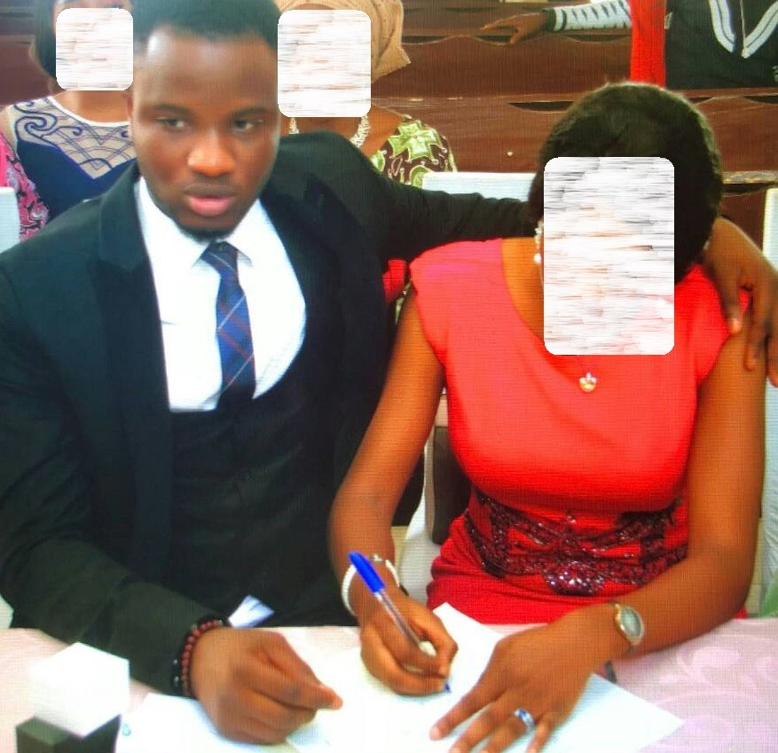 Photos: Looks like BBNaija 2018 housemate, comedian DeeOne married! See photos from his wedding & certificate