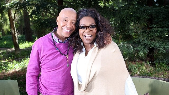 Oprah Winfrey distances herself from Russell Simmons, cuts him off from her spiritual advice book