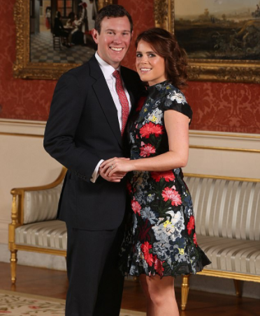 Princess Eugenie's wedding date revealed