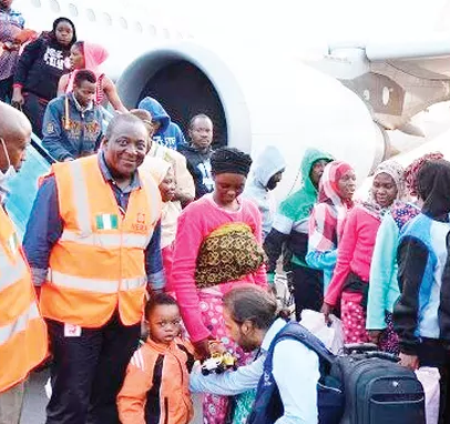 Fourth batch of 465 Nigerians evacuated from Libya arrive in Port Harcourt