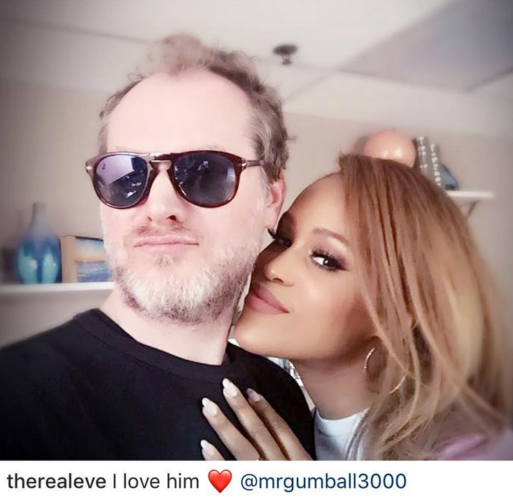 Rapper Eve shares cute photo with her husband...