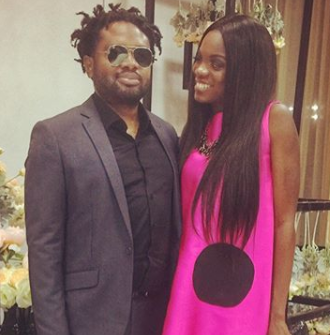 Cobhams Asuquo's wife, Ojuola, jokingly reveals how the music star went on to ask someone else out two weeks after she initially declined going out with him