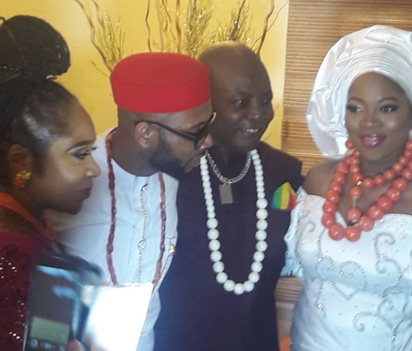Photos from the traditional wedding of Charly Boy