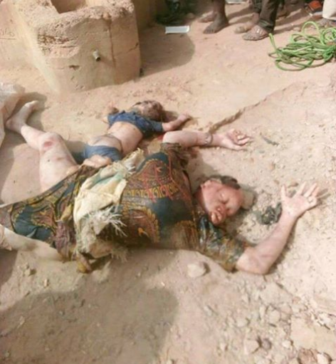 Sad! Mother and child die after falling into a well in Adamawa