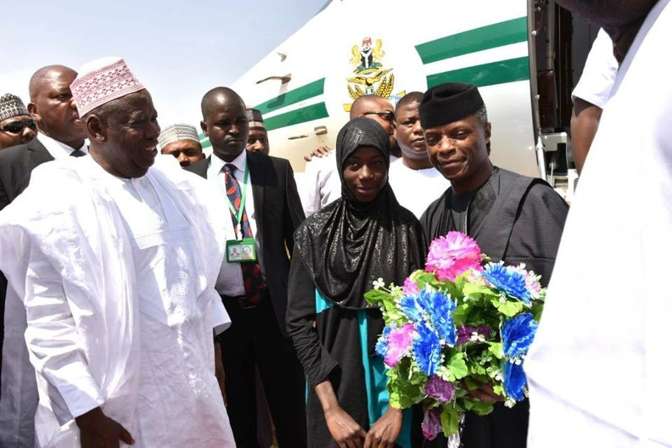 Photos: VP Yemi Osinbajo attends the wedding fathia of his aide, Hafiz Kawu, in Kano