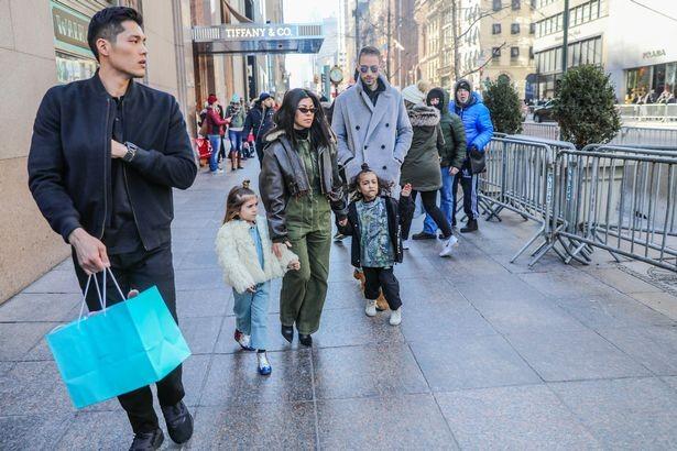 Kourtney Kardashian treats Penelope and North West to ?lavish shopping trip in New York (Photos)