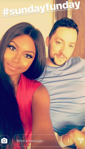 Yvonne Nelson shares new selfie with her baby daddy and daughter