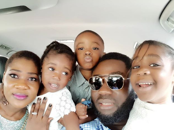 Adorable photos of Mercy Johnson and her family