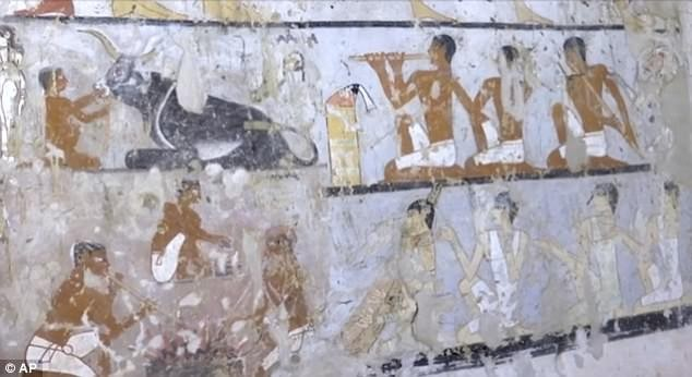 Egypt discovers 4,400-year-old tomb near the country
