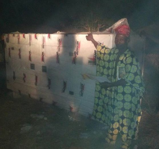 Dino Melaye shows off the 100 KVA Generator he just bought for a community in Kogi state, Nigerians react