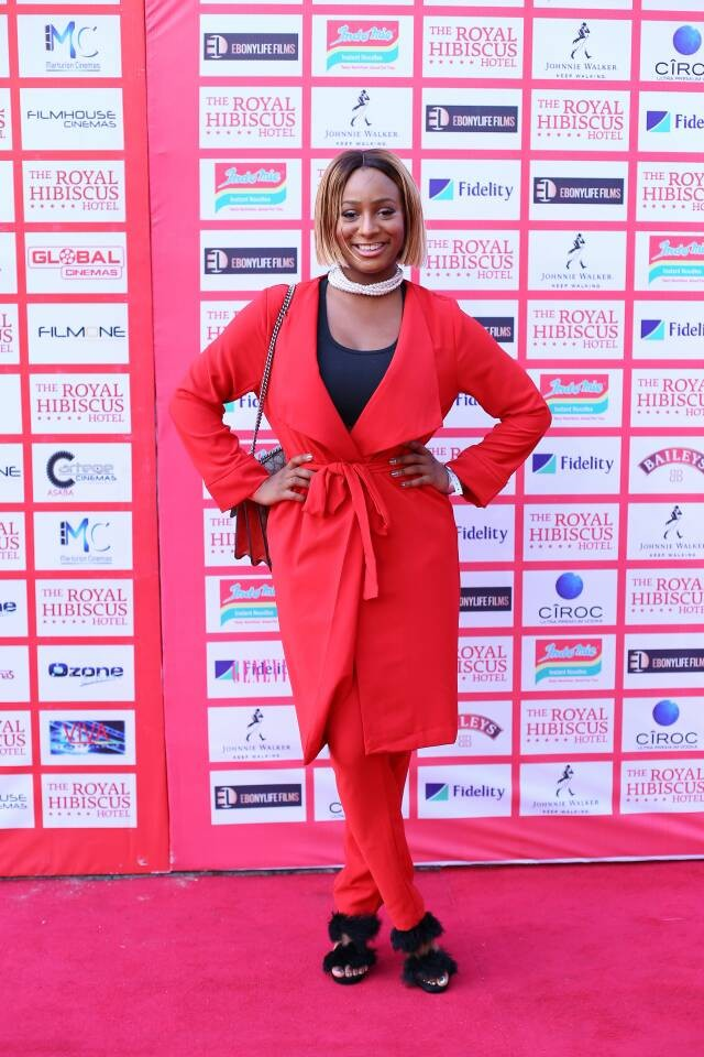 Dangote, Otedola, Toke Makinwa, Dakore Akande and more step out for the premiere of