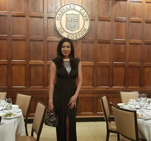 Nollywood actress, Chika Ike Graduates From Harvard Business School