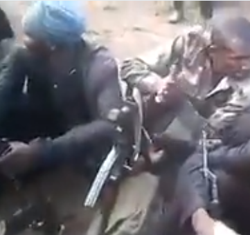 FFK shares shocking video of suspected Fulani herdsmen brandishing AK47 guns