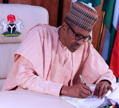 President Buhari signs executive order to prevent foreigners from getting jobs Nigerians can do