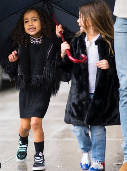 North West is growing into a really beautiful girl