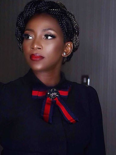 Genevieve Nnaji, her braids and lovely Chanel purse, step out in style(photos)