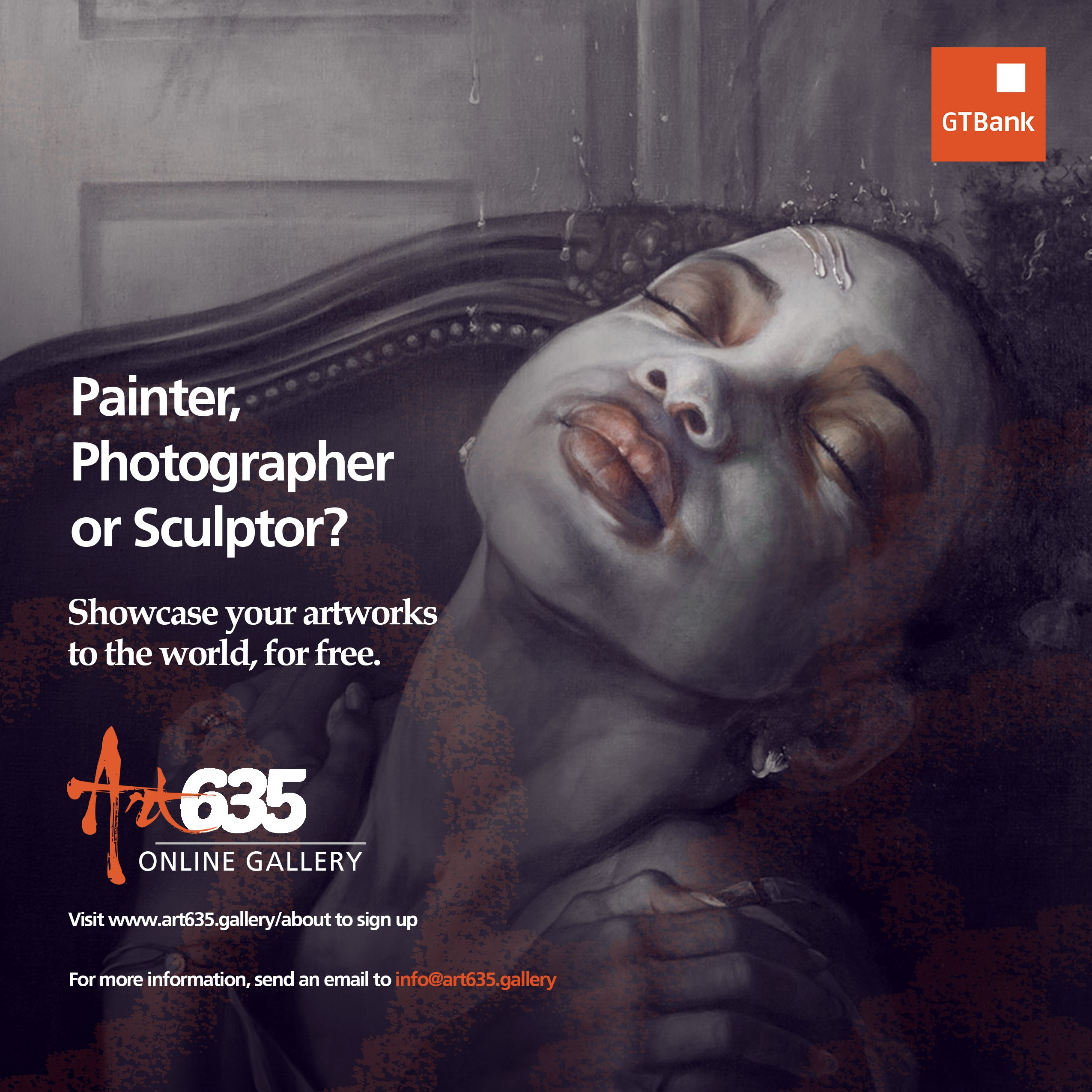 GTBank's Art635 Gallery calls for Artists, Painters, & Sculptors
