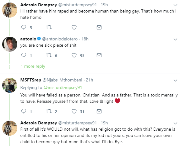Nigerian man says he will send women to rape his son if he ever comes out as being gay