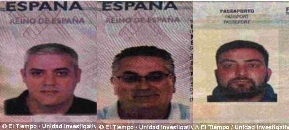 Five men arrested for