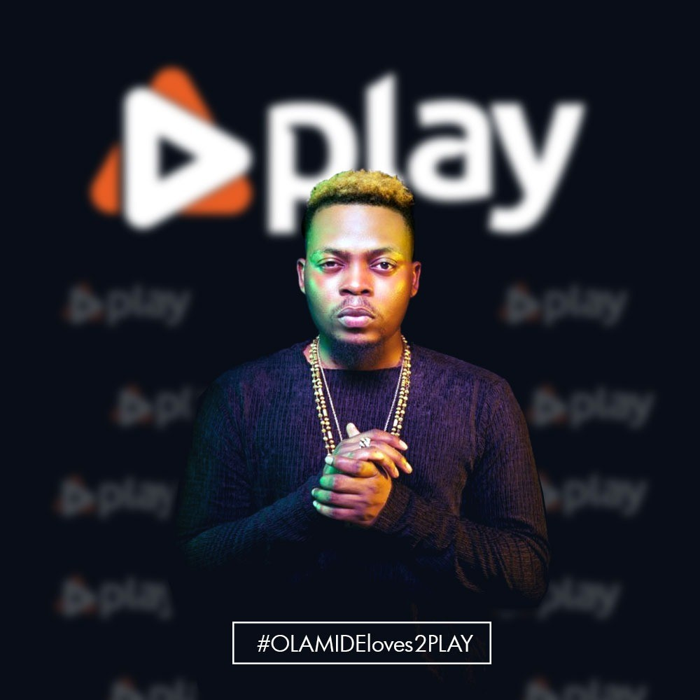 Olamide is the New Face of PlayTV