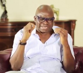 Governor Fayose condemns Police PRO, Jimoh Moshood for referring to Benue governor as a ''Drowning man''