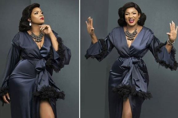 Gorgeous Omotola celebrates 40th birthday with amazing new photo.