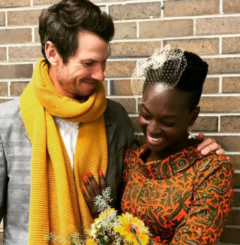 Late Dora Akunyili's daughter, ChidIogo, ties the knot with her white boyfriend, Andrew(photos)