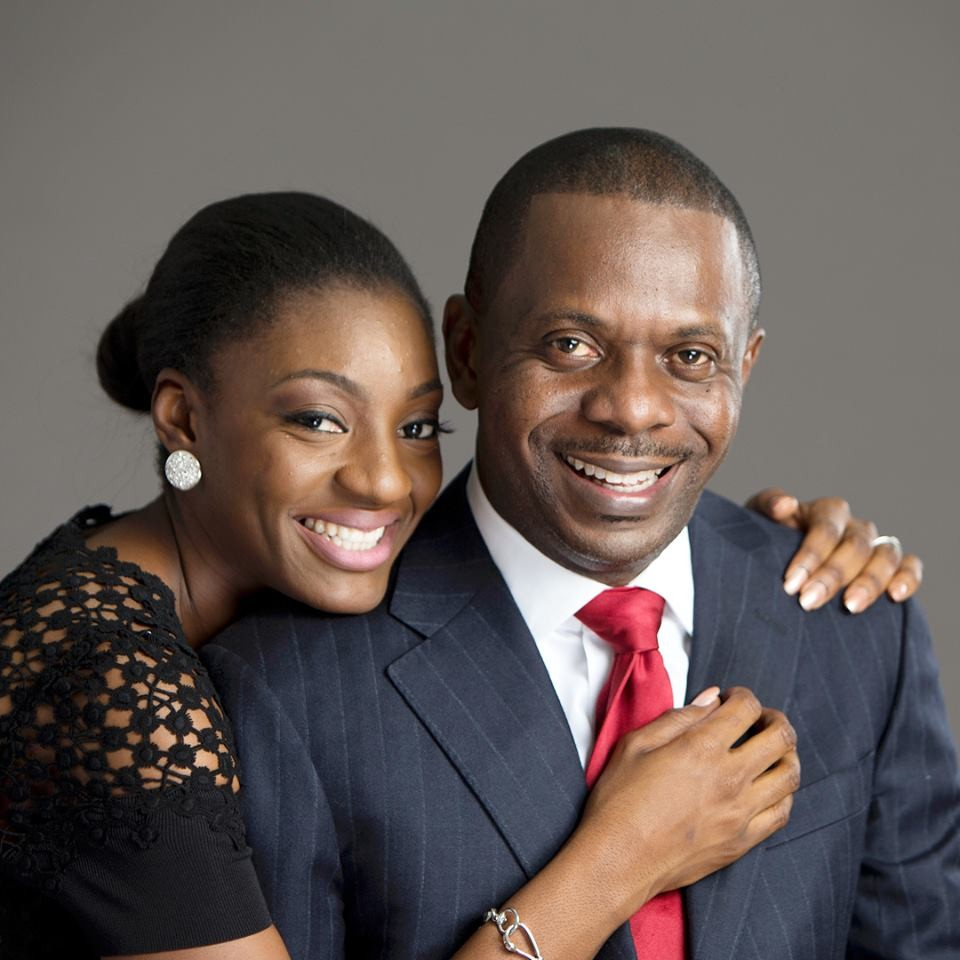 Lagos pastor, Poju Oyemade and his wife, Toyin, celebrate 3rd wedding anniversary