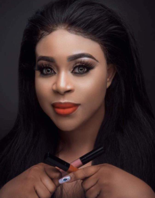 Nollywood actress, Mimi Orjiekwe, set to launch make up line on Valentine's Day!