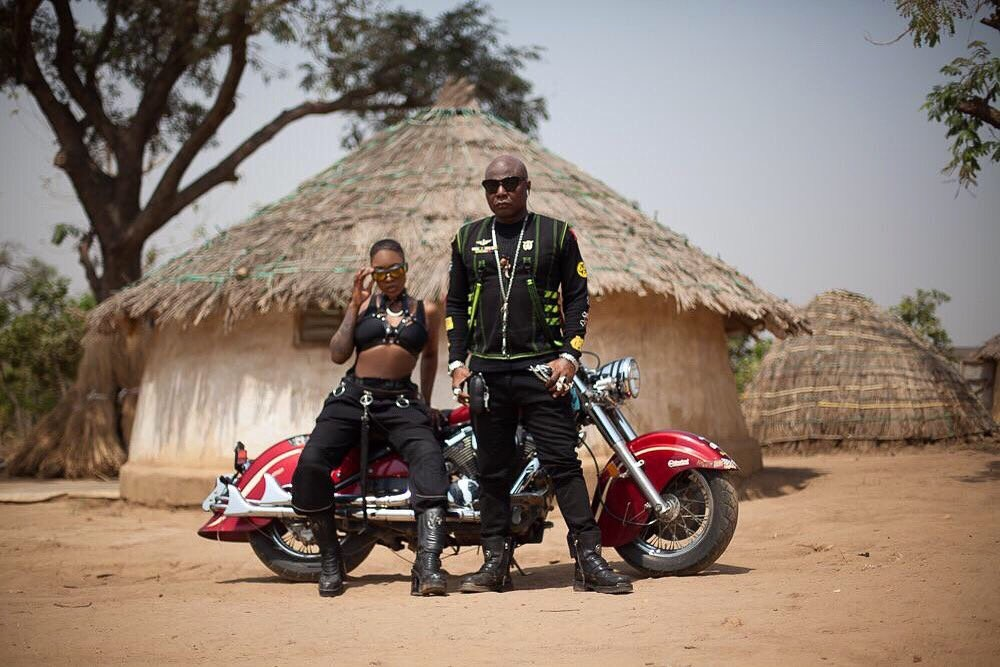 Charly Boy & daughter, Dewy, fierce in new photoshoot