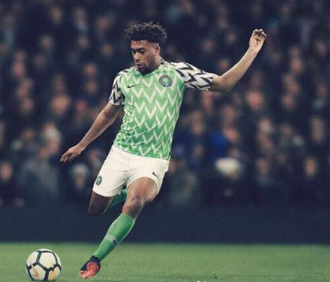 Photos: NFF unveils?home and away kits for Russia 2018 World Cup
