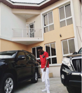Singer, Mayorkun shows off new home on IG