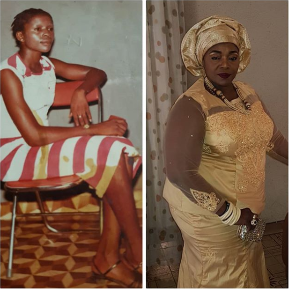 Rita Edochie shares throwback photo from 1980