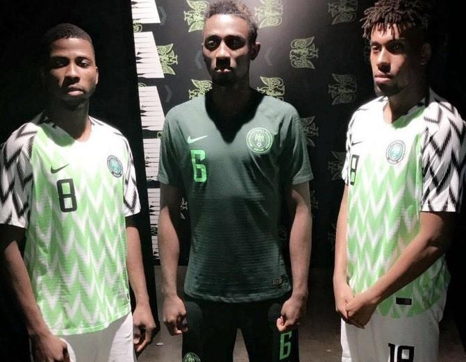 Watch how Mikel, Iwobi, Iheanacho & Ndidi reacted to the new Super Eagles' kits