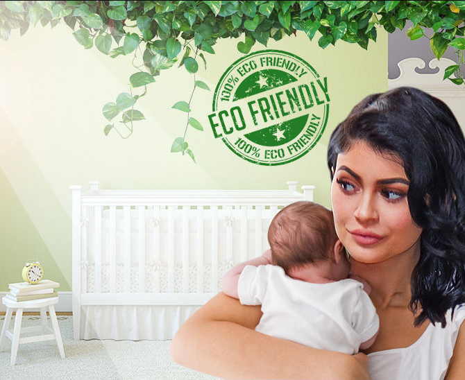 Kylie Jenner's daughter, Stormi's nursery is 100 percent natural and eco-friendly