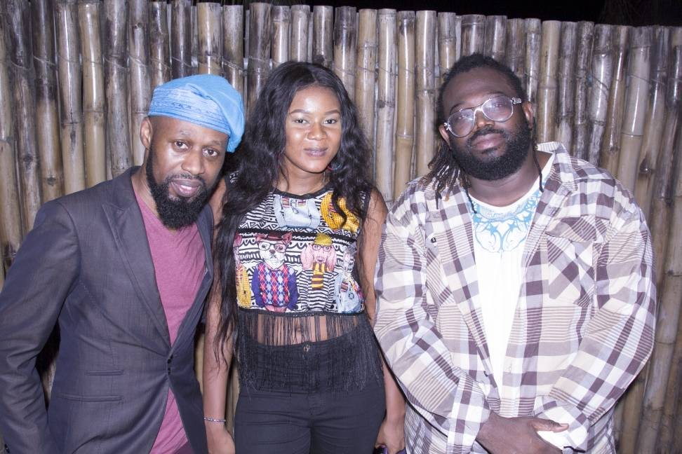 Photos: Raskimono, Oritz Wiliki, Efe Omorogbe turn up for Majek Fashek