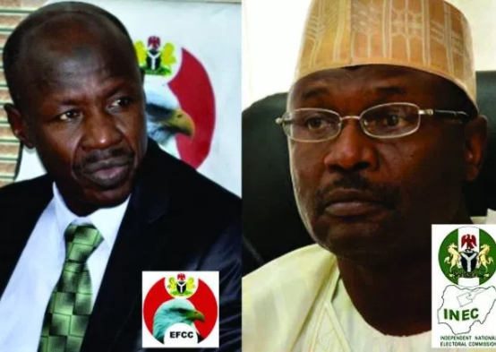 INEC appeals to EFCC to help track campaign funds ahead of 2019 elections