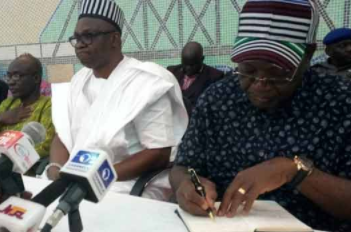 ''I am a member of APC but if Benue people want me to defect to PDP, I will'' Governor Ortom says