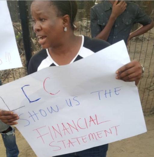 First photos from the #OccupyLekki protest
