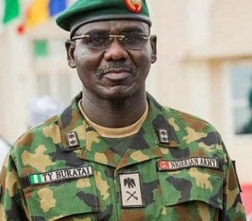 Chief of Army Staff, Lt. Gen. Buratai, loses dad