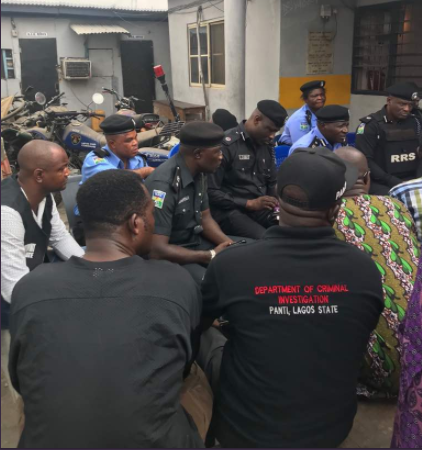 Photos: RRS wades into?clash between rival cult gangs in Fadeyi and Jibowu