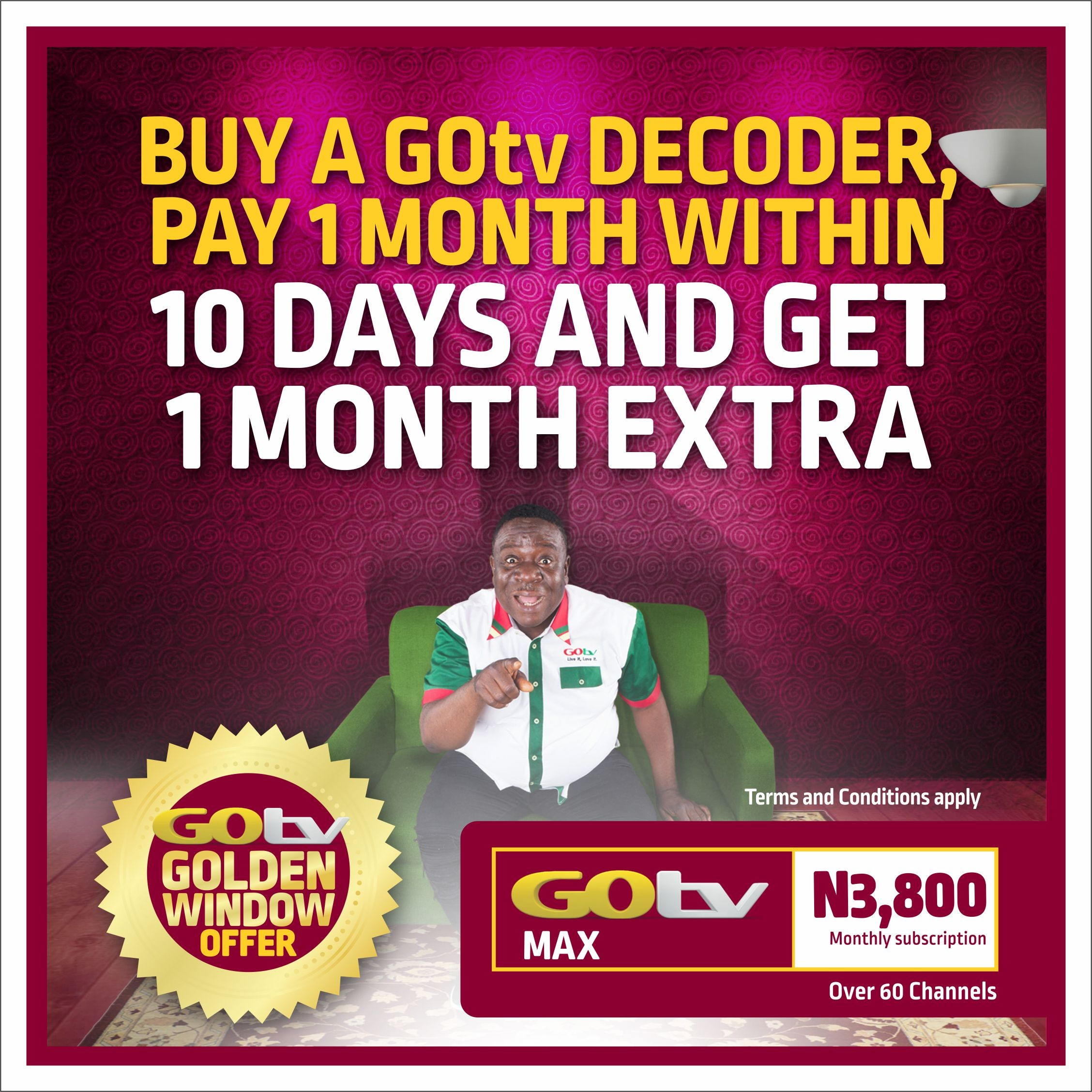Here's all you need to know about GOtv Golden Window