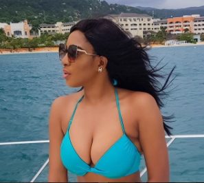 Actress, Chika Ike shares bikini photos while on holiday in Jamaica