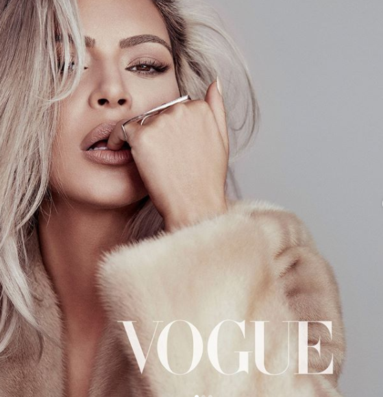 Kim Kardashian stuns on the cover of Vogue Taiwan (photos)