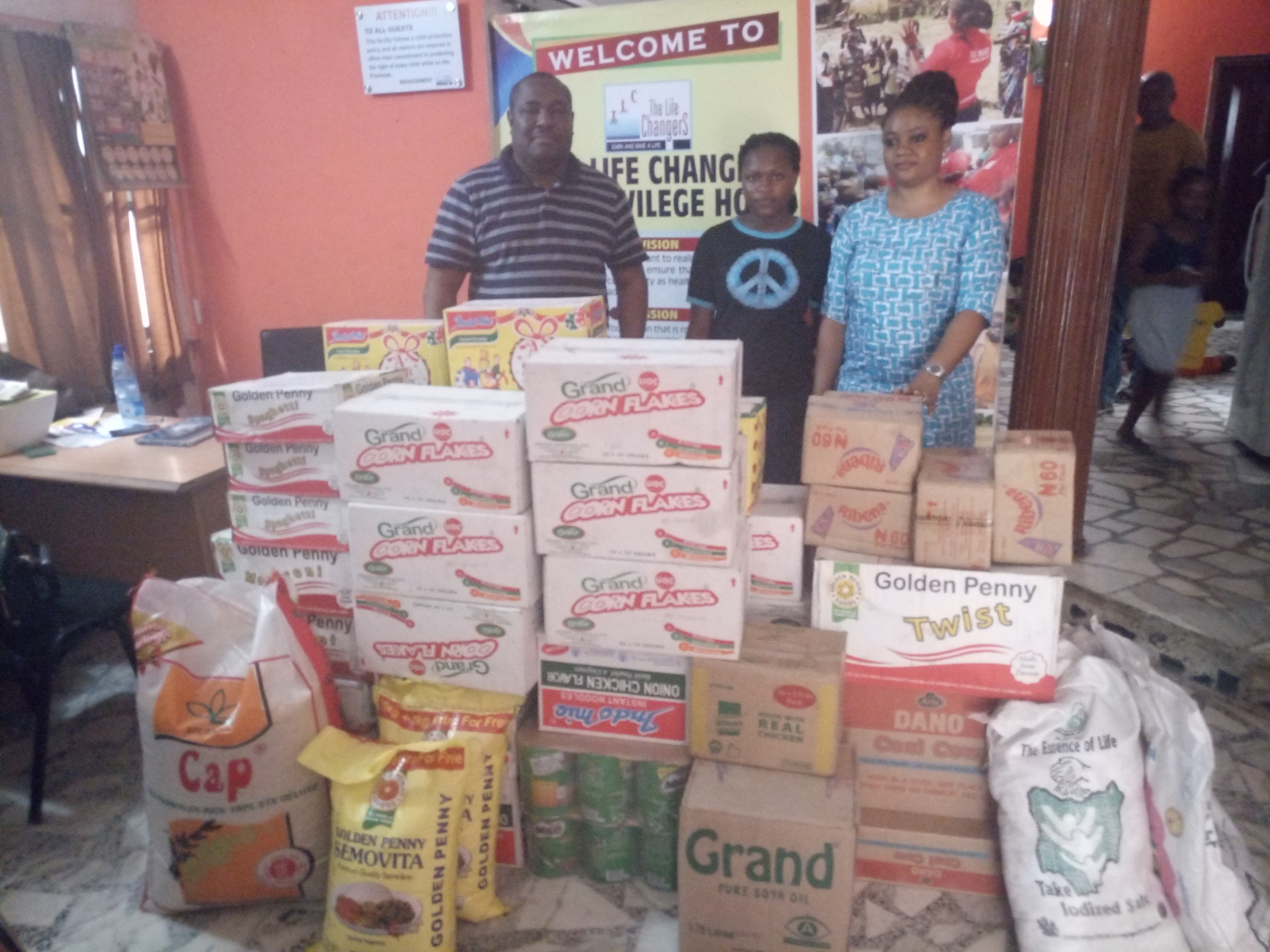 Festival Mall Amuwo Odofin donates items to Life Changers Orphanage