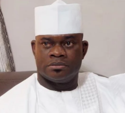 ''Those angry with Pres. Buhari are looters because they no longer have money to pay tithe in church'' - Yahaya Bello replies Catholic bishops