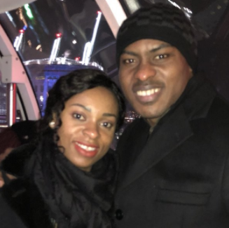 Lovely new photos of ex-Super Eagles goalkeeper, Vincent Enyeama and his wife, Promise