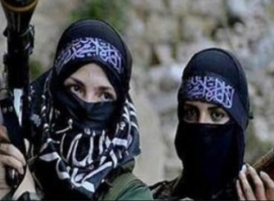 Over 800 female ISIS fighters detained in Syria