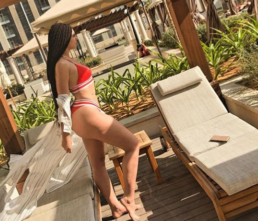 IK Ogbonna's wife, Sonia, puts her banging bikini bod on display